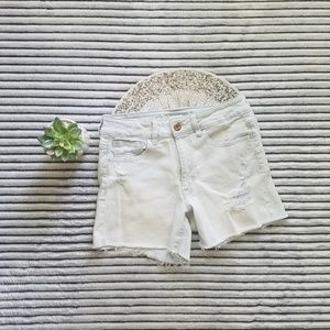 American Eagle Super Light Distressed Shorts 6